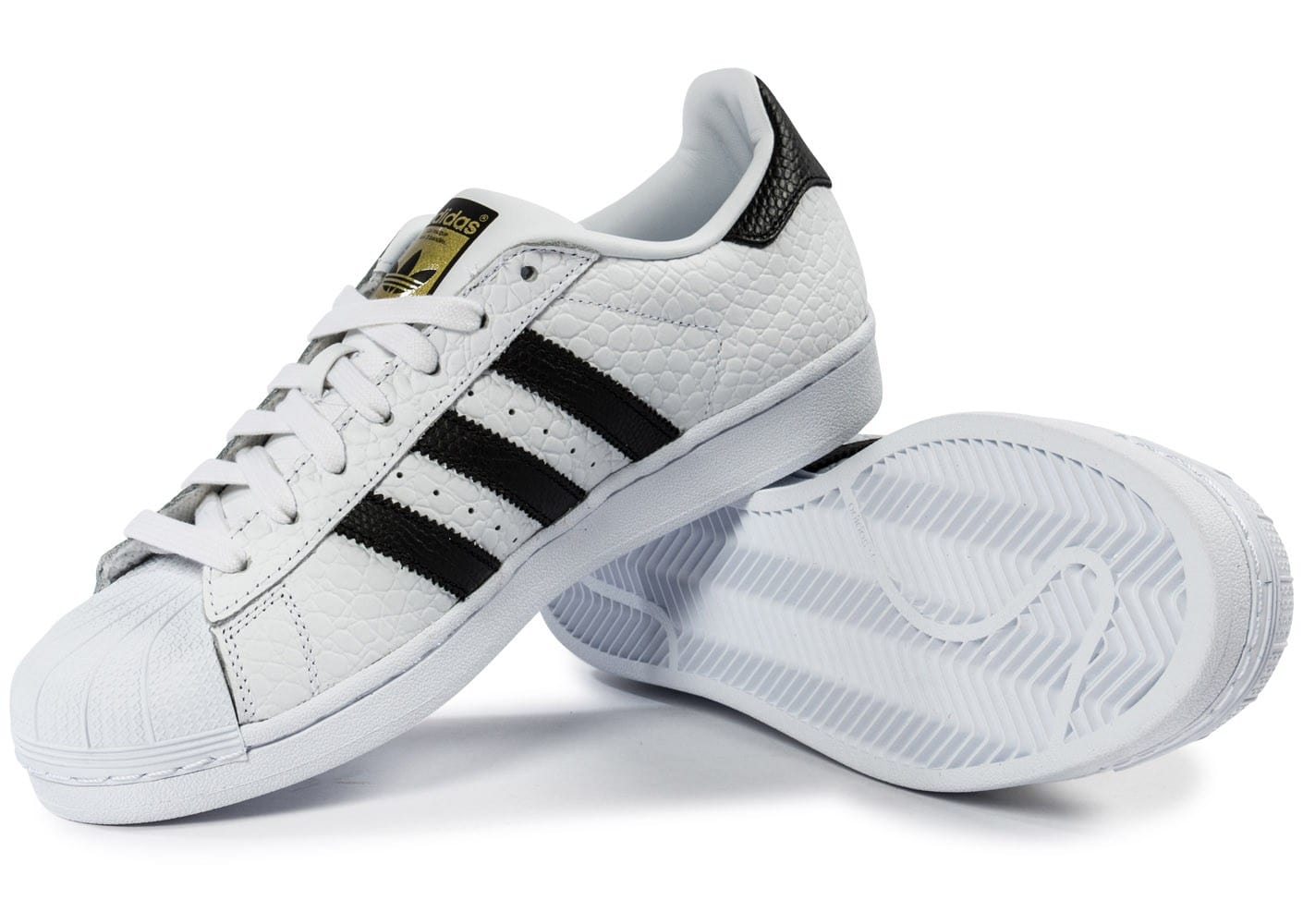 237928138 adidas Superstar Animal blanc noir - Chaussures Baskets homme ...
