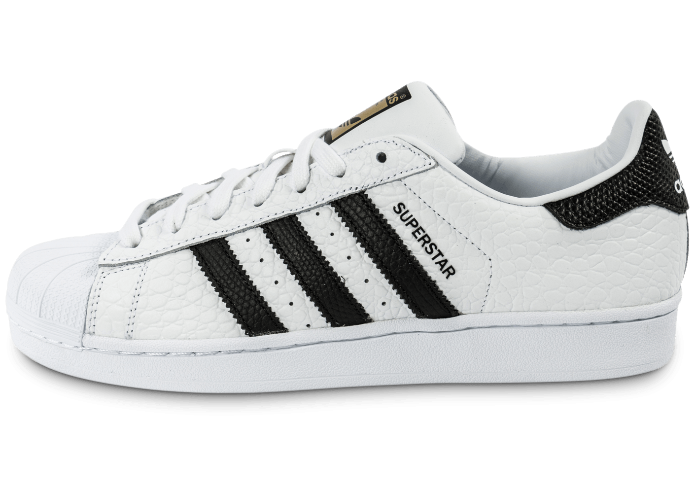 adidas Superstar Animal blanc noir - Chaussures Baskets homme - Chausport
