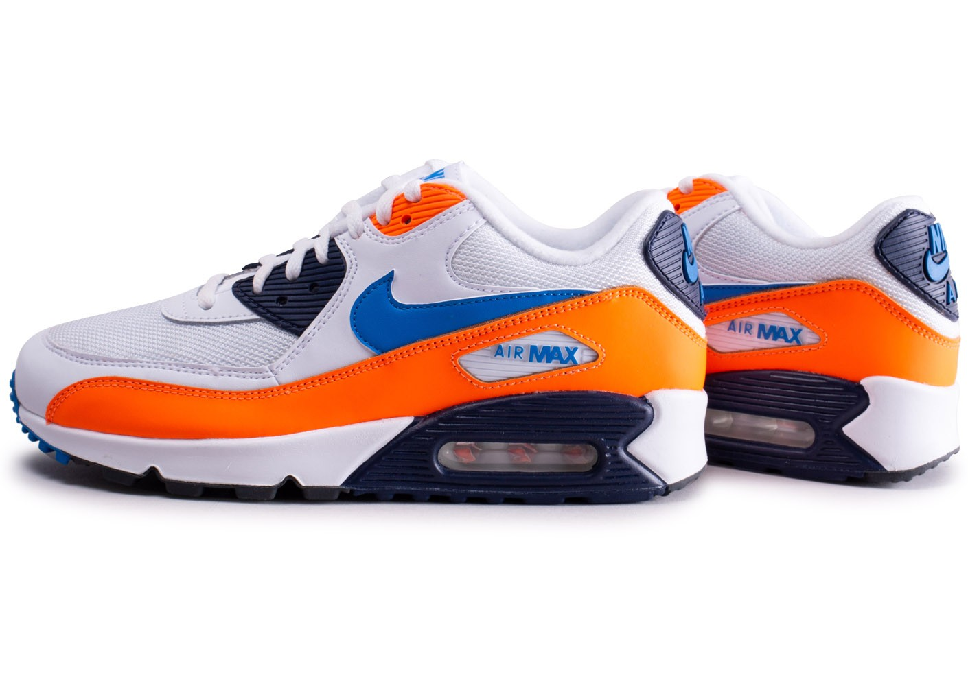 air max 90 homme noir et orange