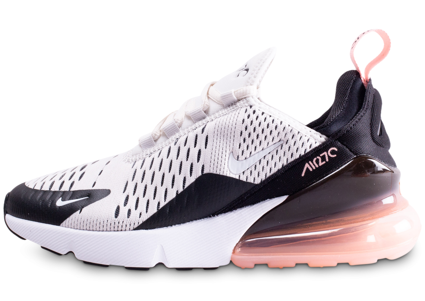 Nike Air Max 270 blanc et corail junior