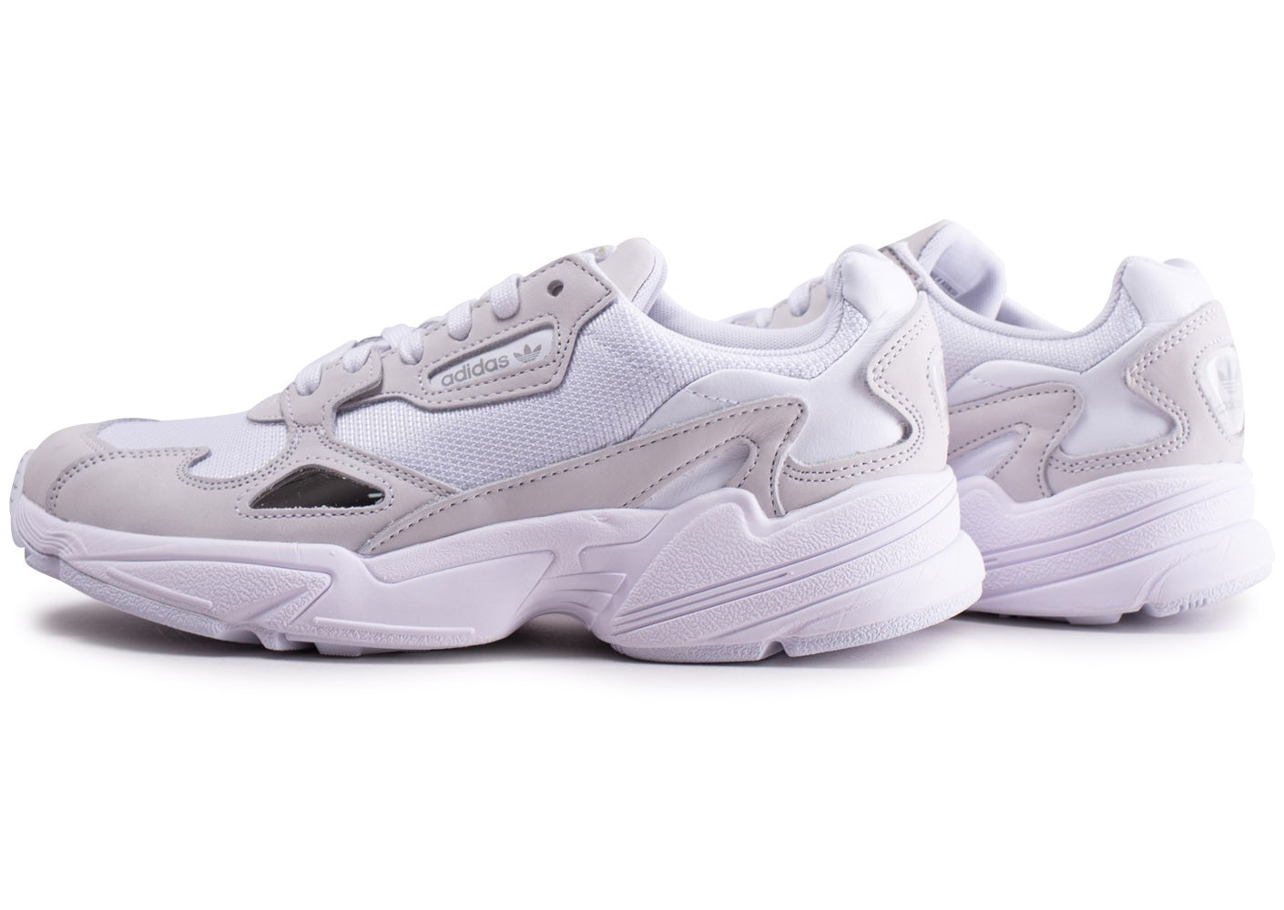 adidas Falcon blanche Chaussures Baskets homme Chausport