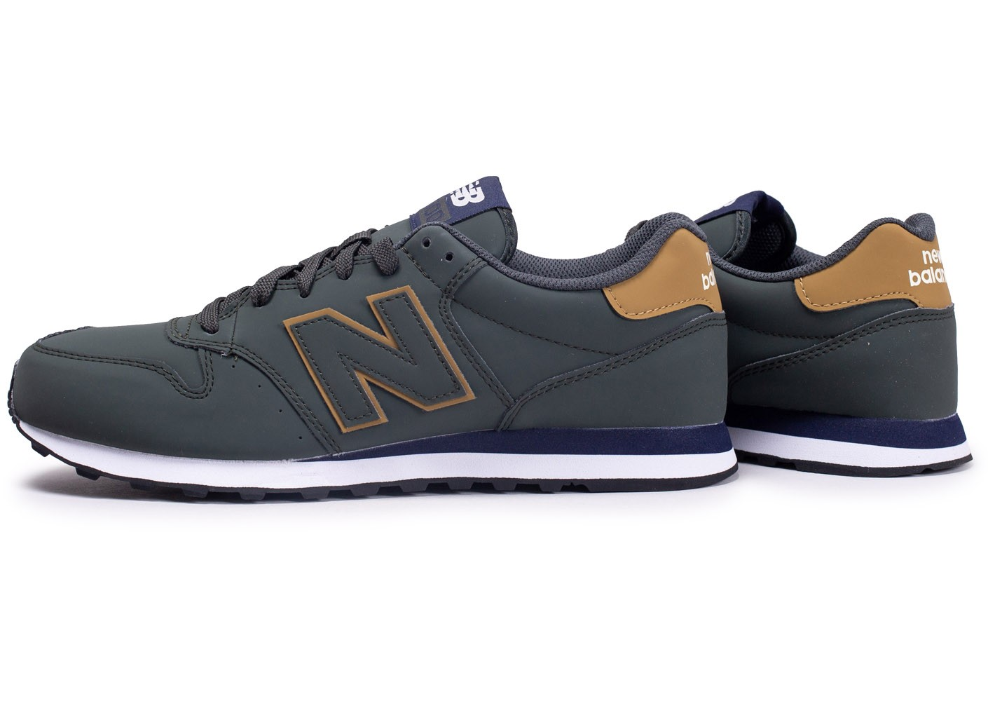 new balance enfants grise 500