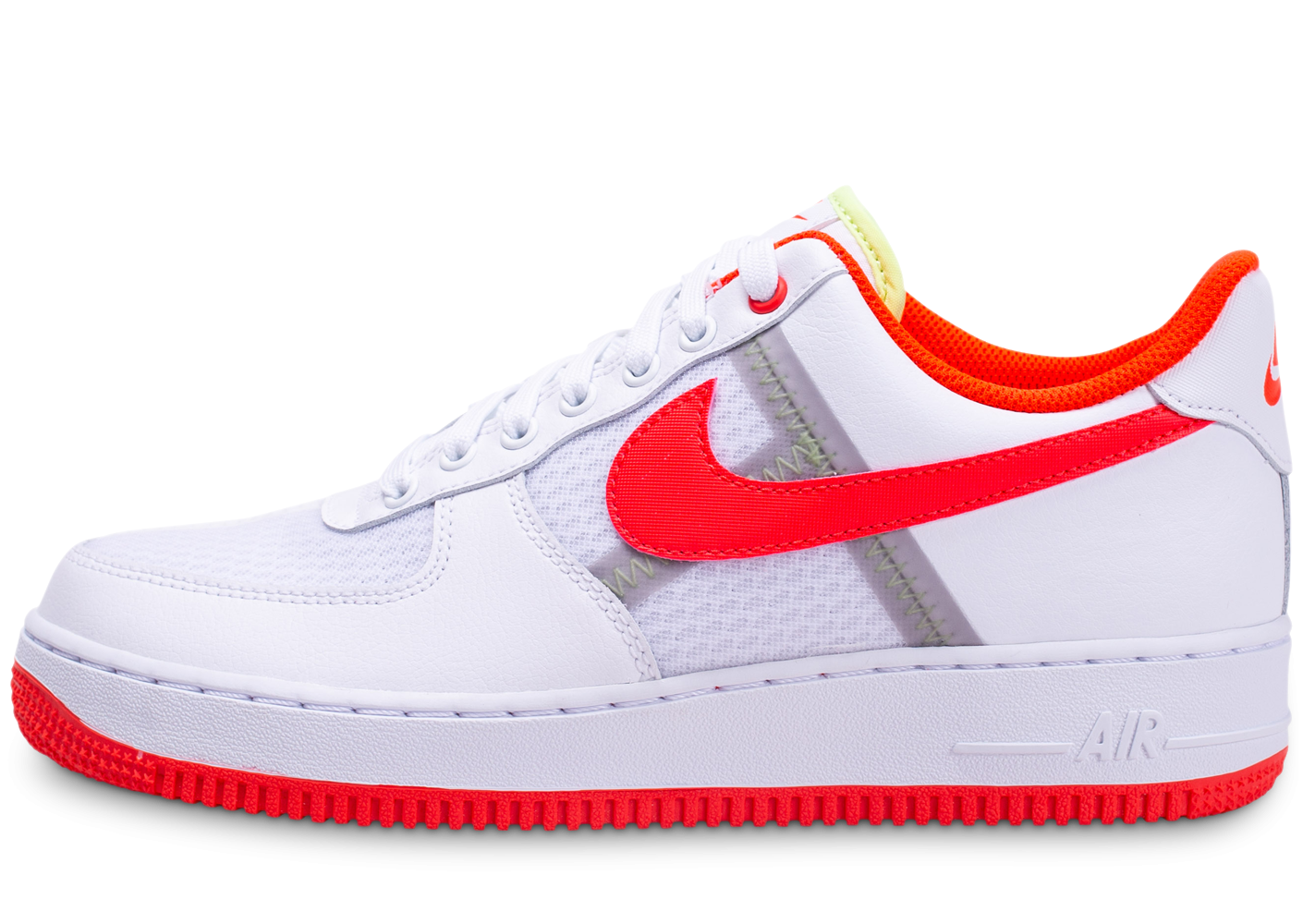 air force 1 blanc orange