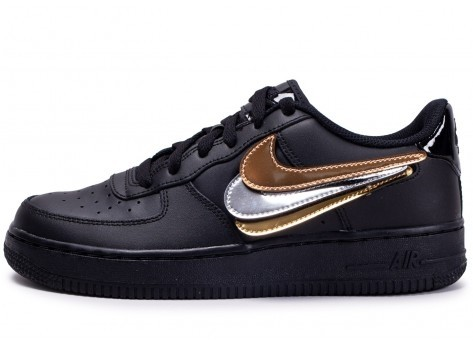Nike Air Force 1 '07 LV8 noir multi swoosh 5 4 avis