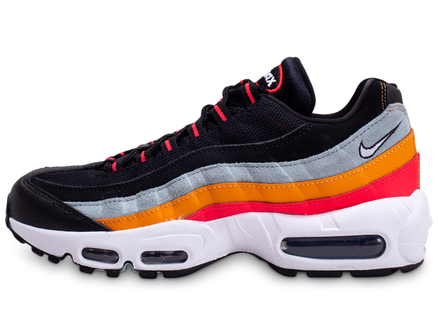 Nike Air Max 95 Essential noir gris orange