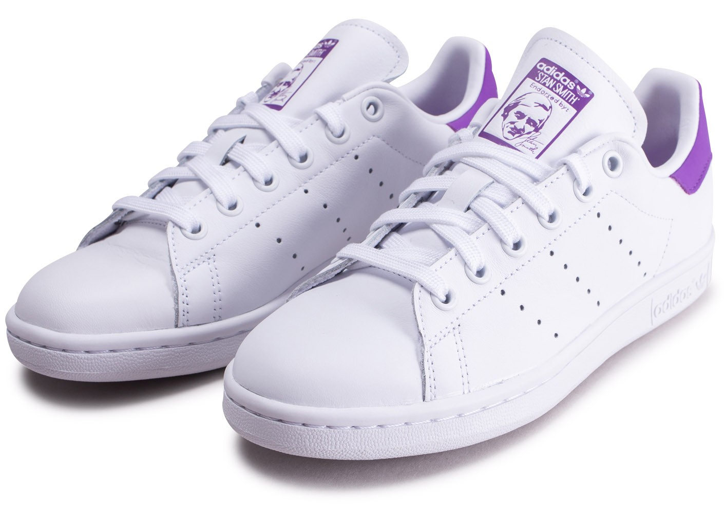 stan smith femme violet Off 50% platrerie