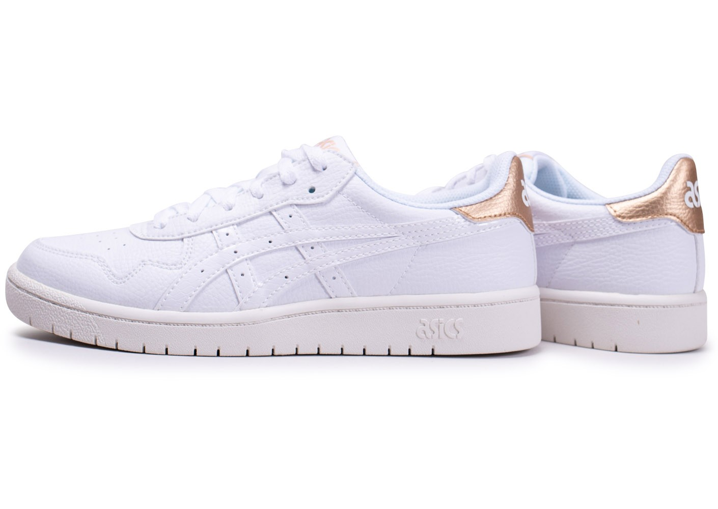 chaussure asics homme blanche