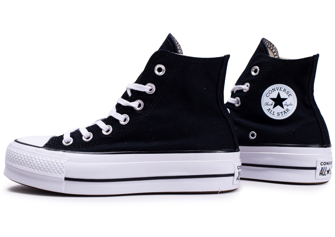 Converse Chuck Taylor All Star Lift High Top noir ...