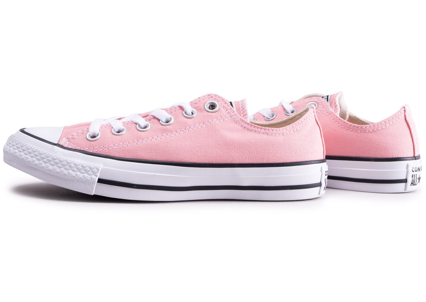 Converse Chuck Taylor All Star Low rose femme - Chaussures ...