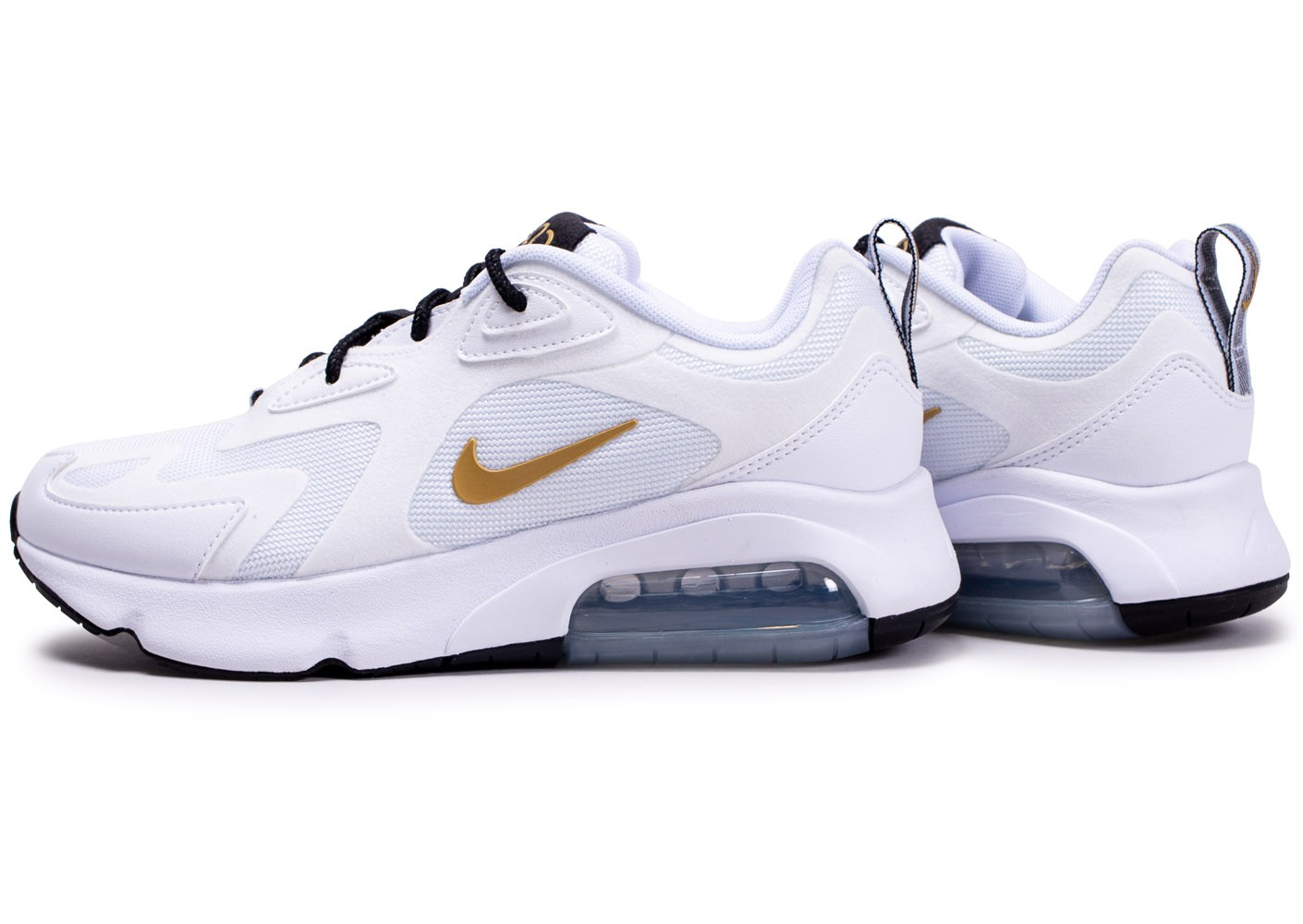 Nike Air Max 200 blanc or femme - Chaussures Basket mode ...