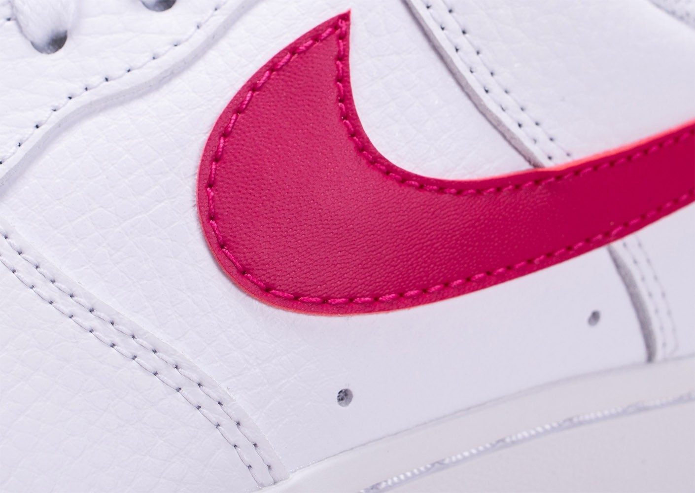 Nike Air Force 1 blanc wild cherry Chaussures Prix stylés