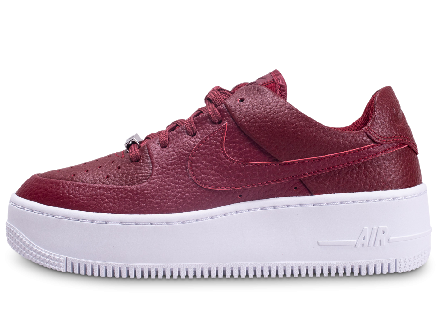nike femme air force 1 rouge