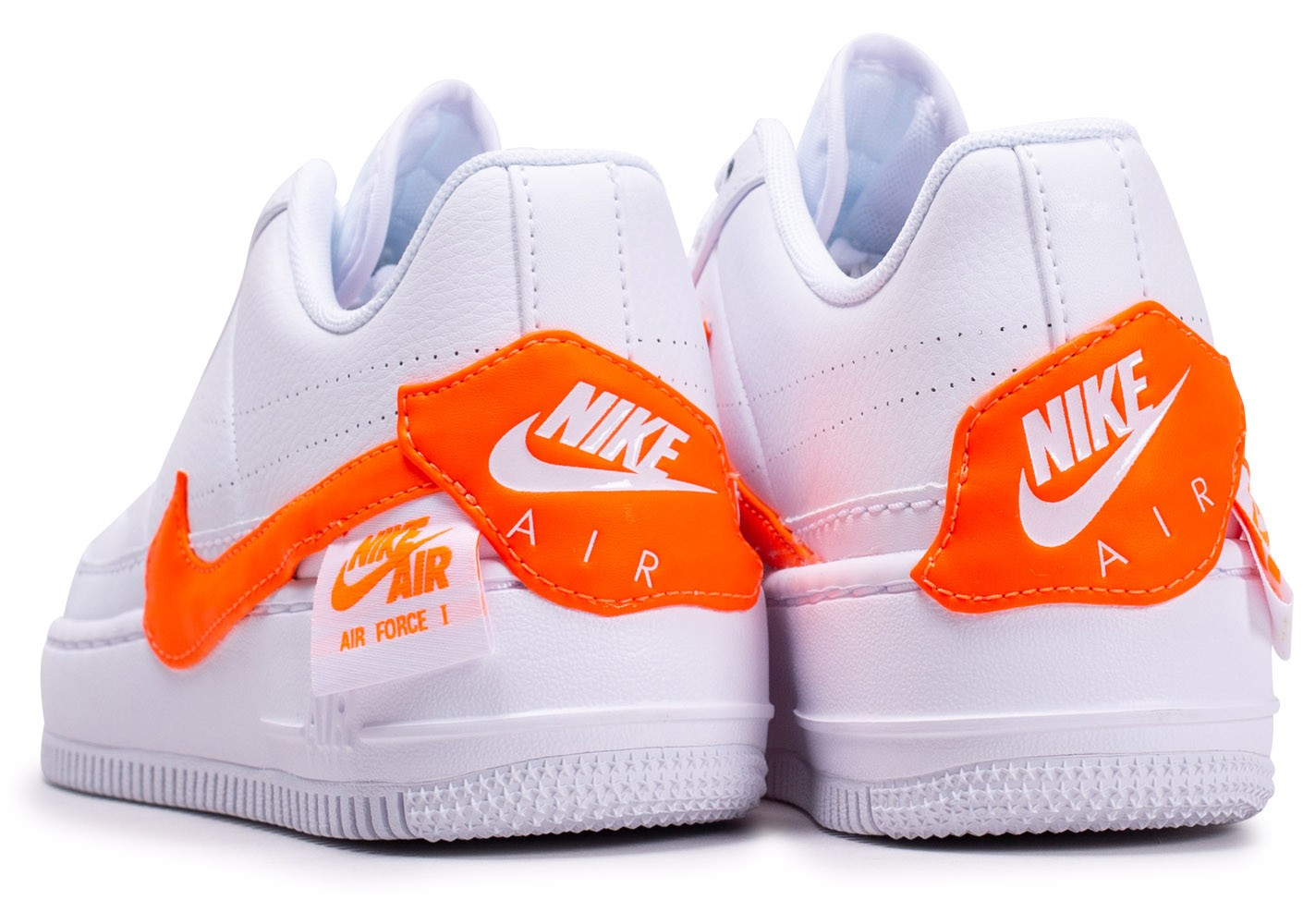 Nike Air Force 1 Jester XX Orange et Blanche femme ...