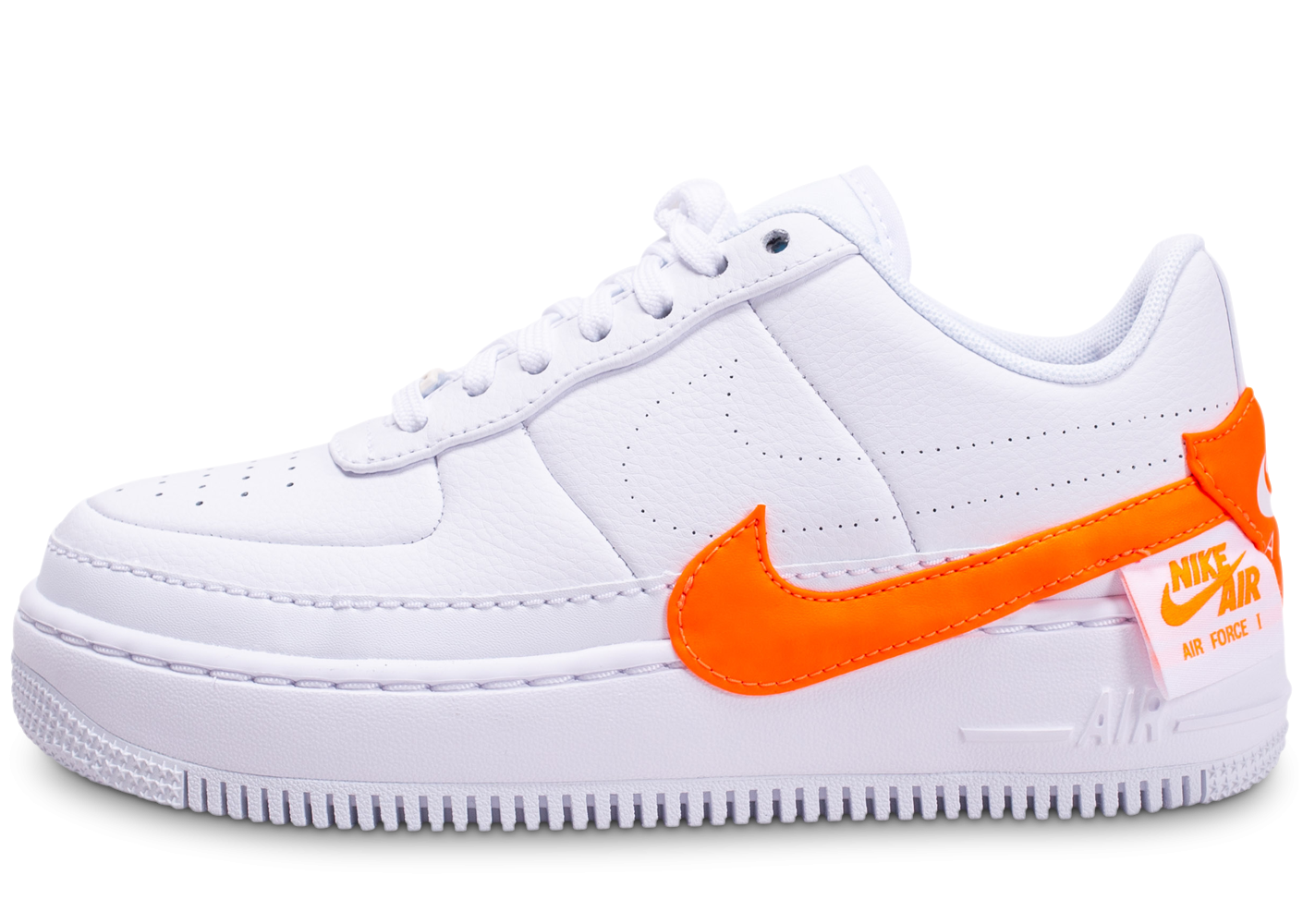 Nike Air Force 1 Jester XX Orange et Blanche femme