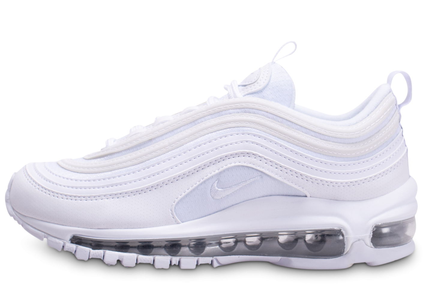 Nike Air Max 97 blanc et argent junior