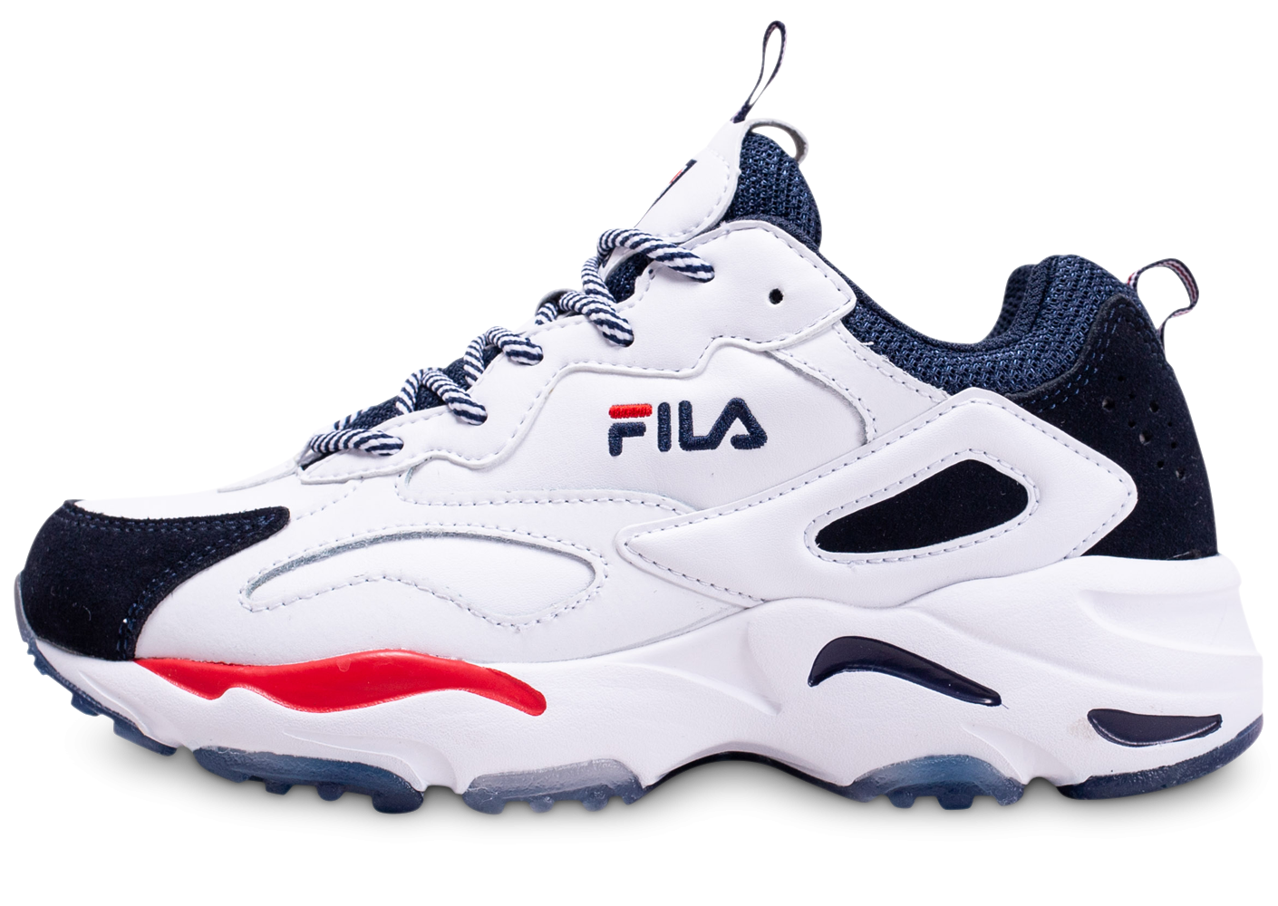 Fila Ray Tracer blanche junior - Chaussures Prix stylés - Chausport