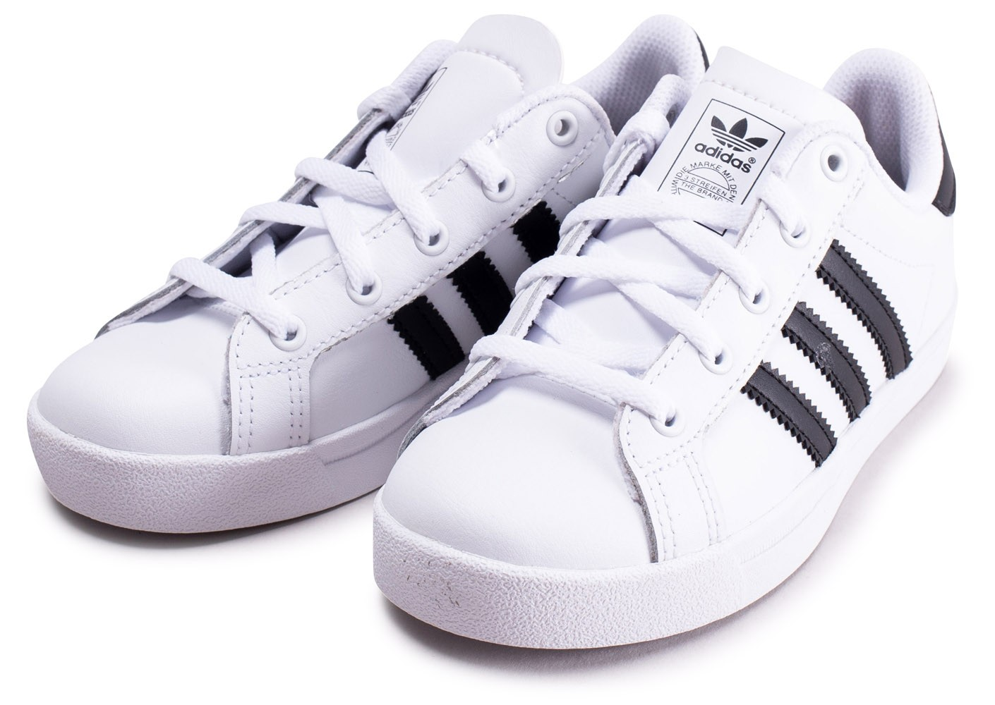 price reduced huge selection of new york adidas Coast Star blanche et noire enfant - Chaussures ...