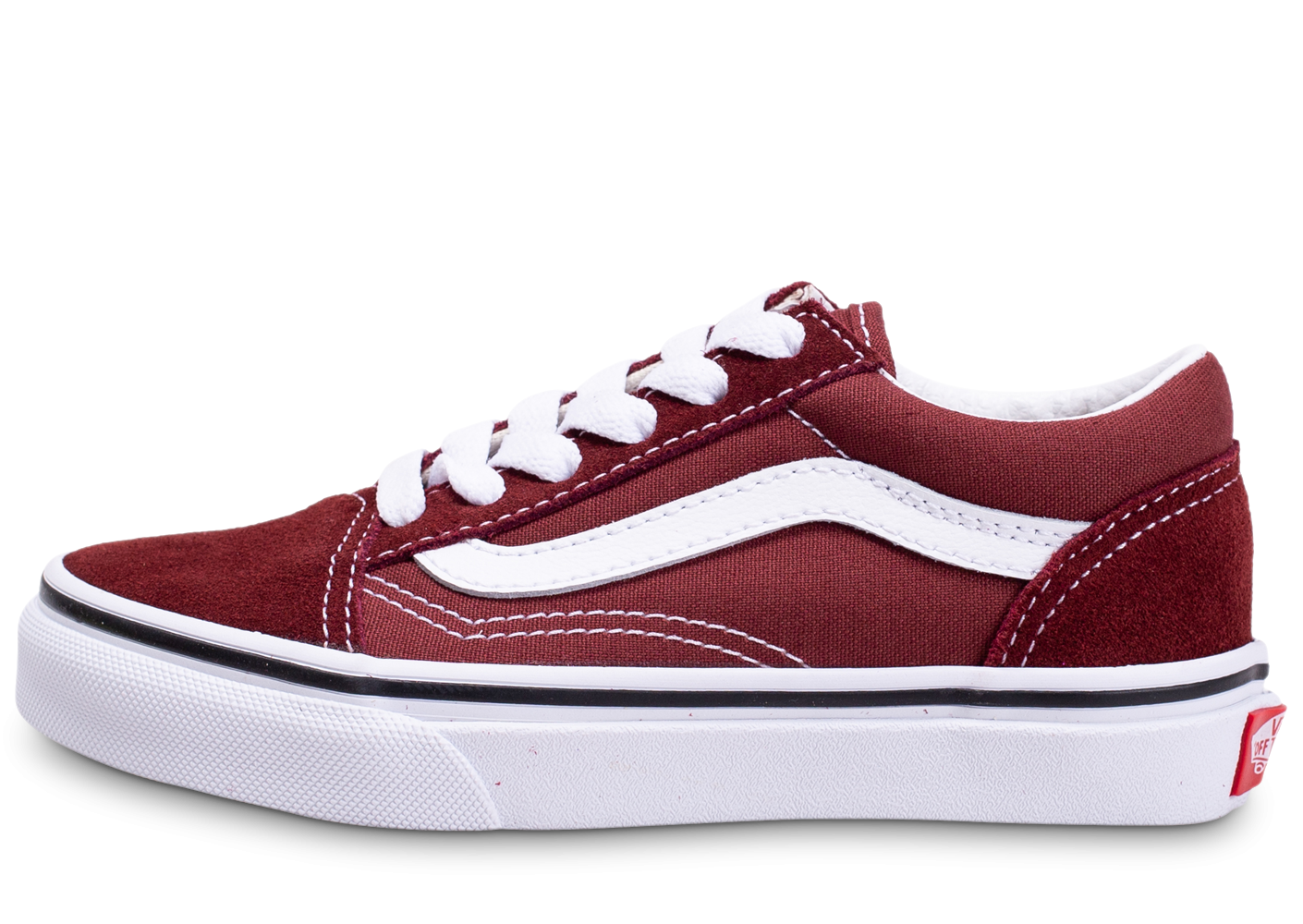 Vans Old Skool bordeaux enfant