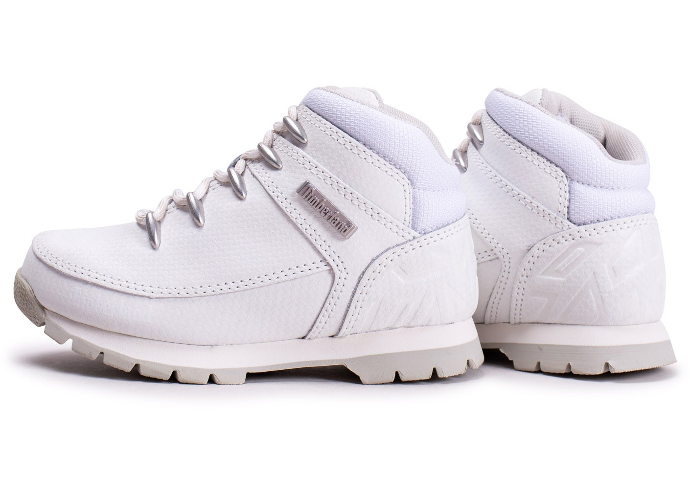 timberland enfant blanche