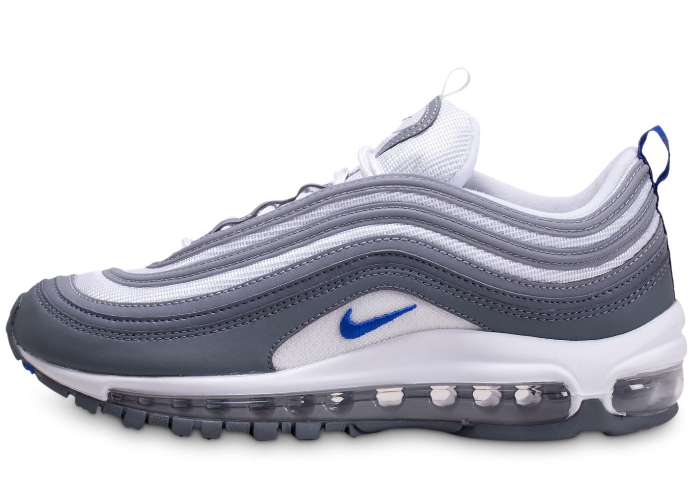 Nike Air Max 97 gris bleu royal
