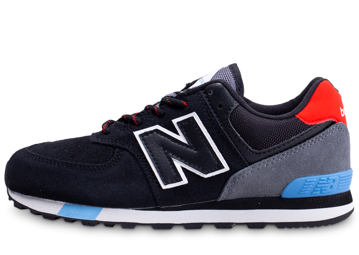 new balance bleu rouge