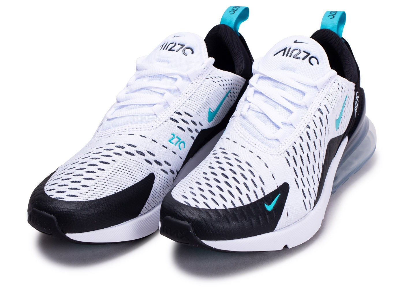 Nike Air Max 270 White Photo Blue AH8050 105 Chaussures Nike