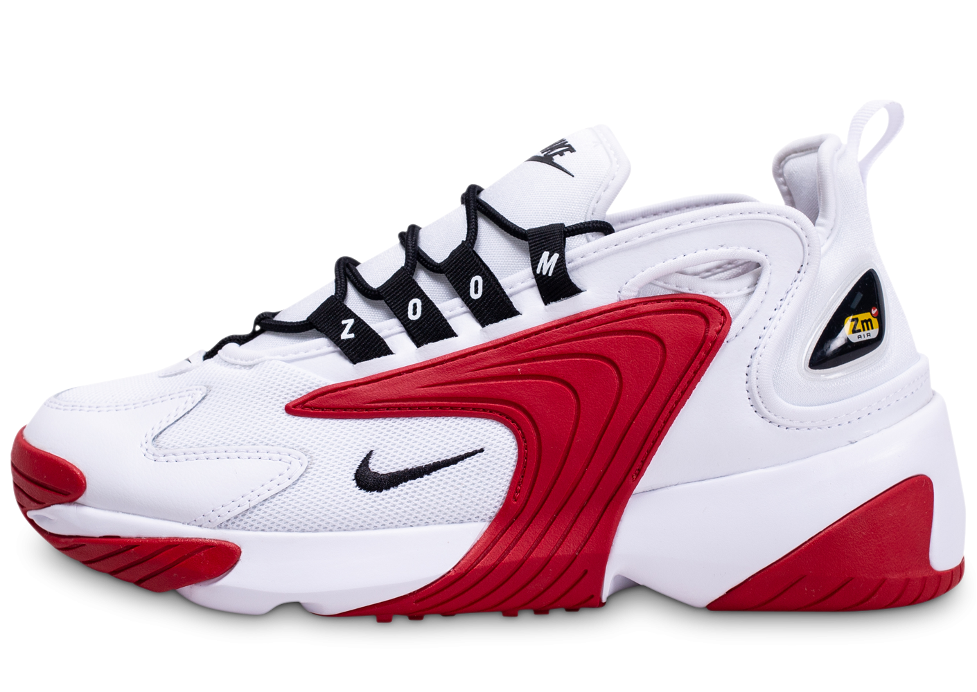 Nike Zoom 2K blanche et rouge