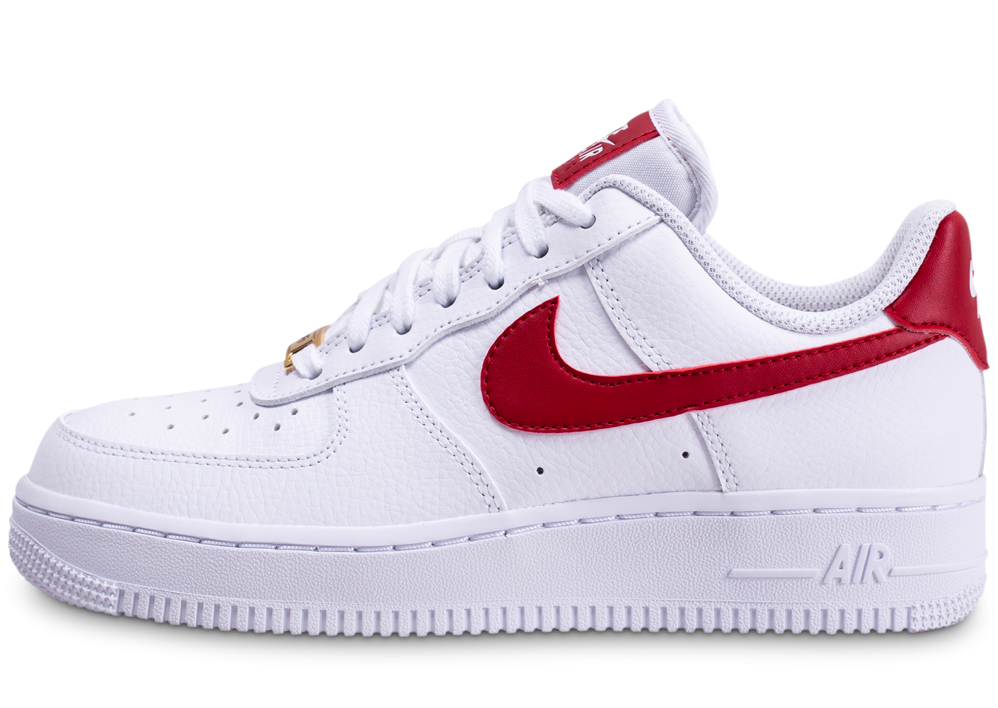 air force 1 femme blanche rouge