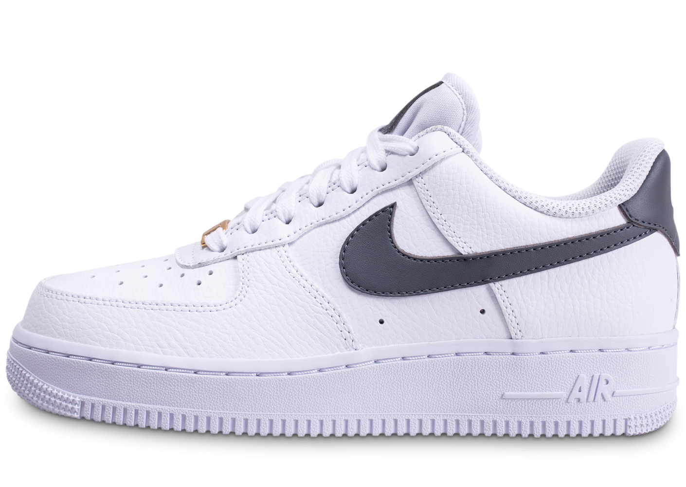 air force 1 femme blanc or