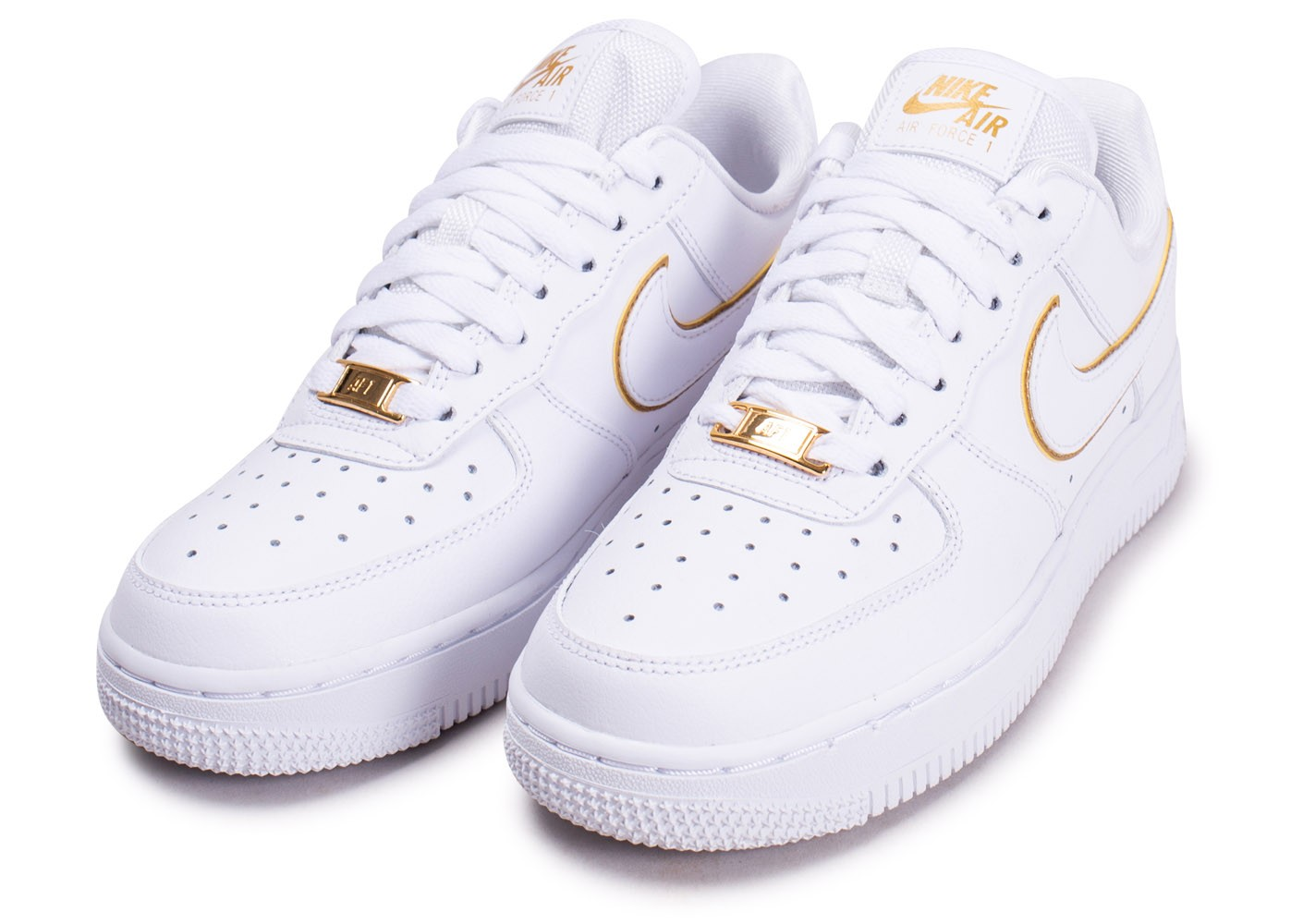 nike air force 1 blanc doré