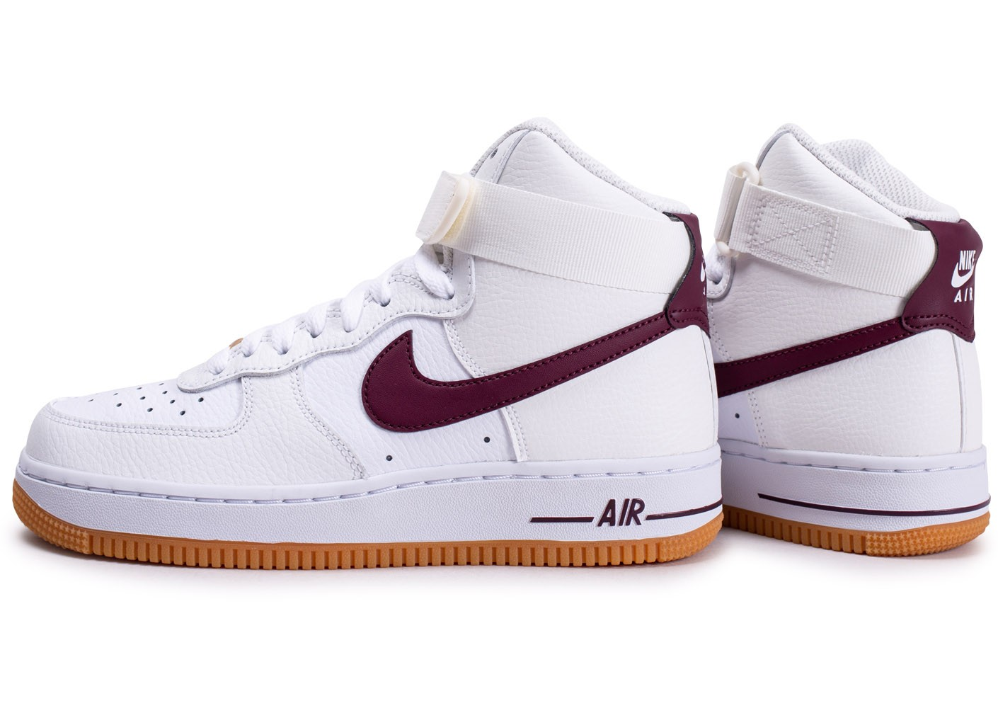 chaussure nike air force 1 marron