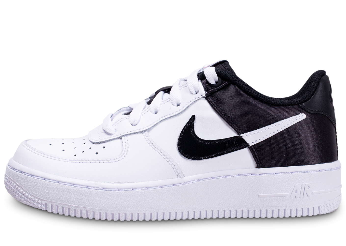 NIKE Air Force 1 LV8 Jr Gris Blanc Noir