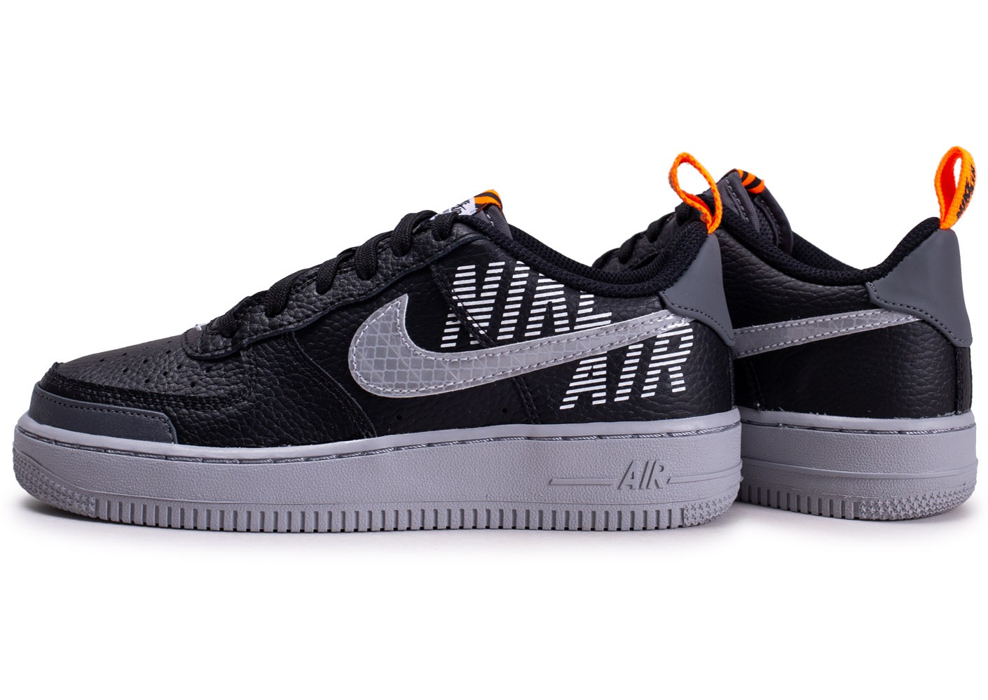 air force 1 orange enfant