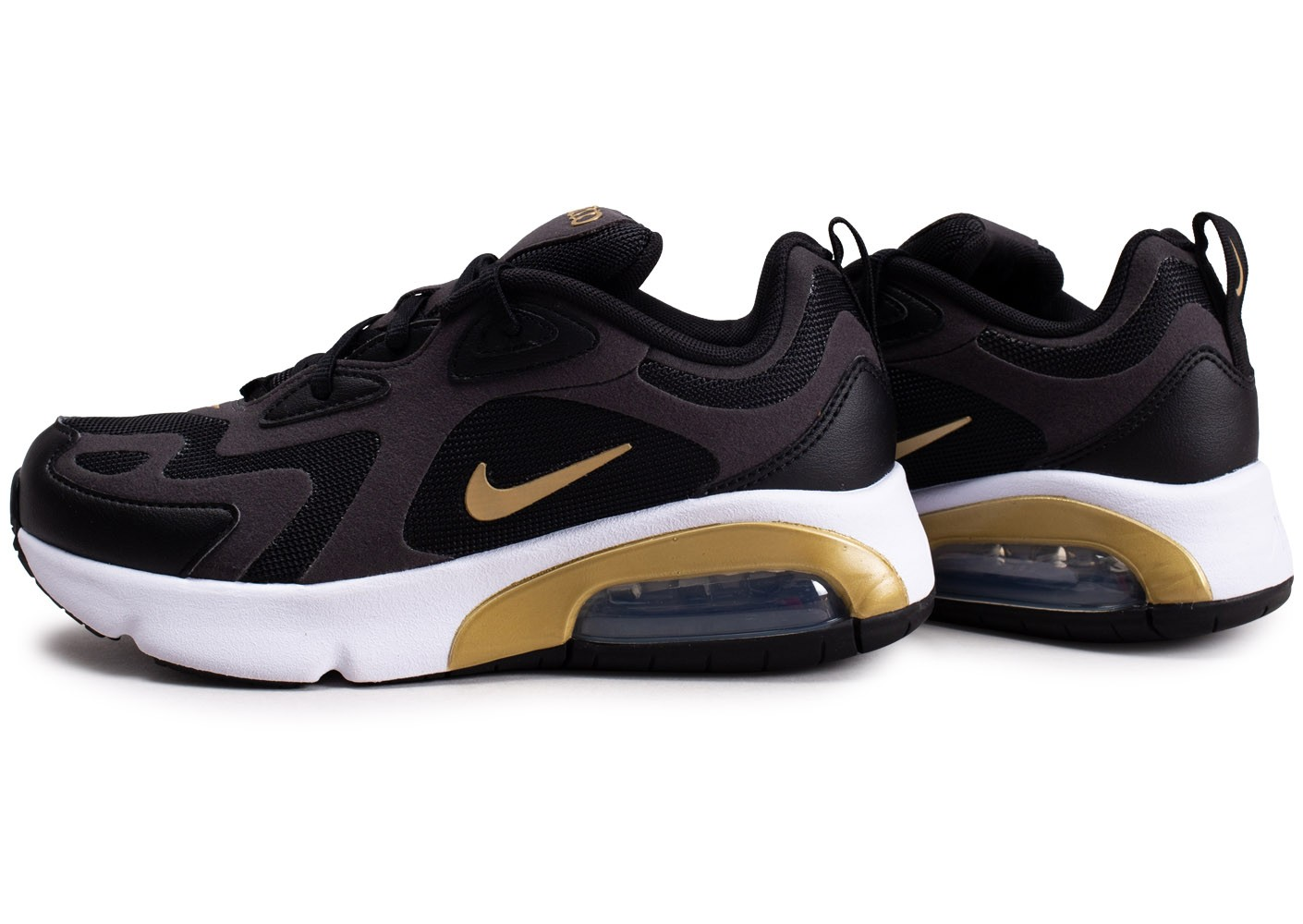 Nike Air Max 200 noir anthracite or junior Chaussures Prix