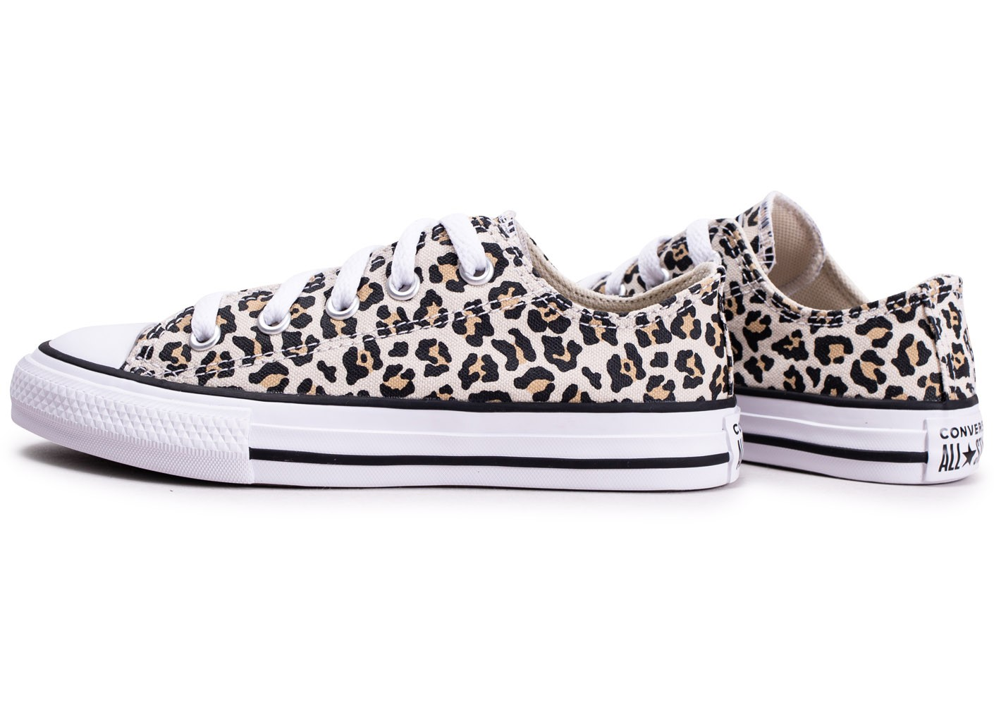 Converse Chuck Taylor All Star Leopard enfant - Chaussures ...