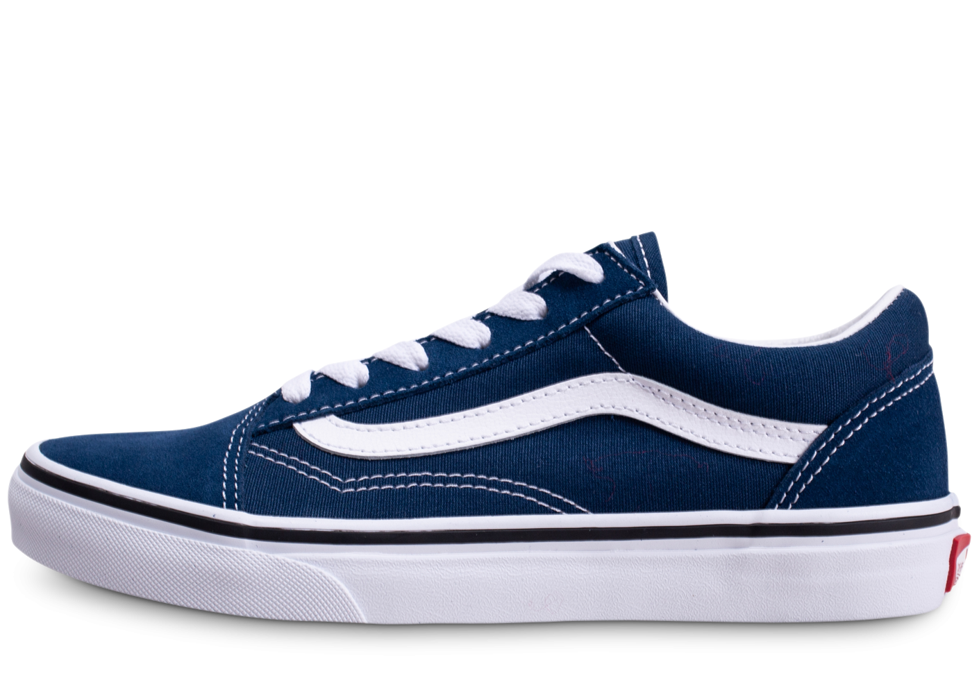 Vans Old Skool bleu blanc junior