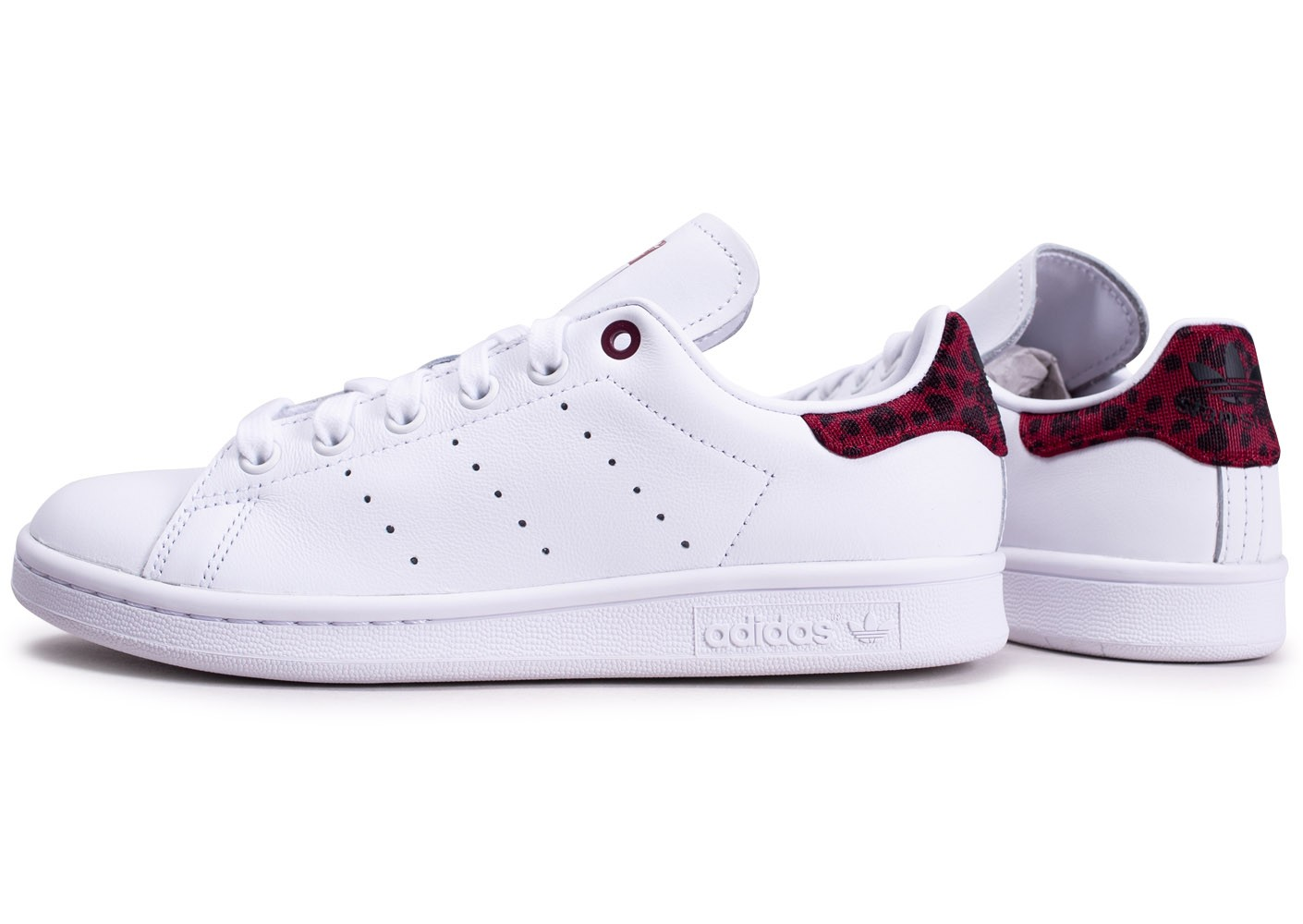 basket adidas femme stan smith rouge