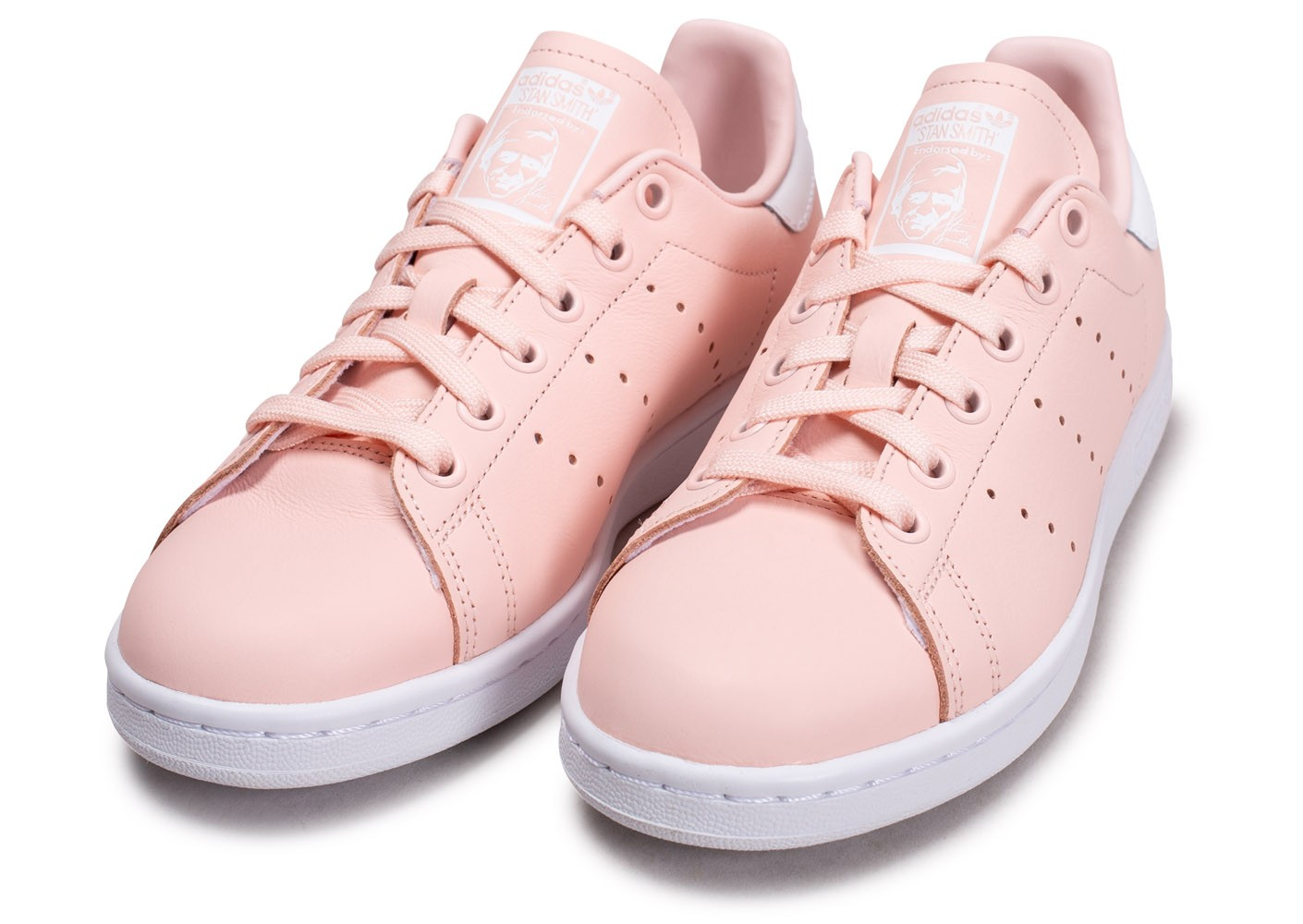 adidas Stan Smith rose blanc femme Chaussures adidas