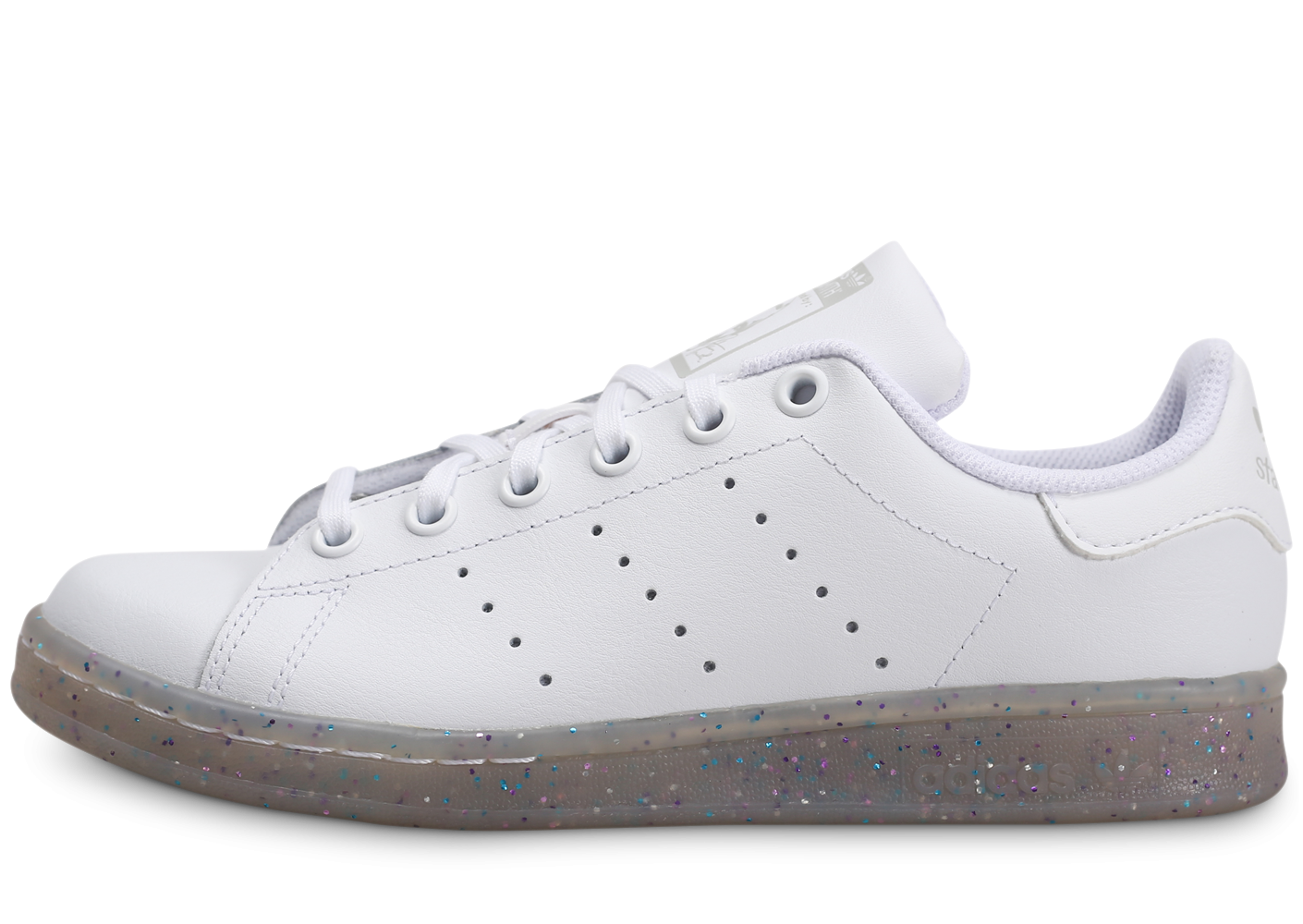 adidas Stan Smith blanche et paillettes Junior