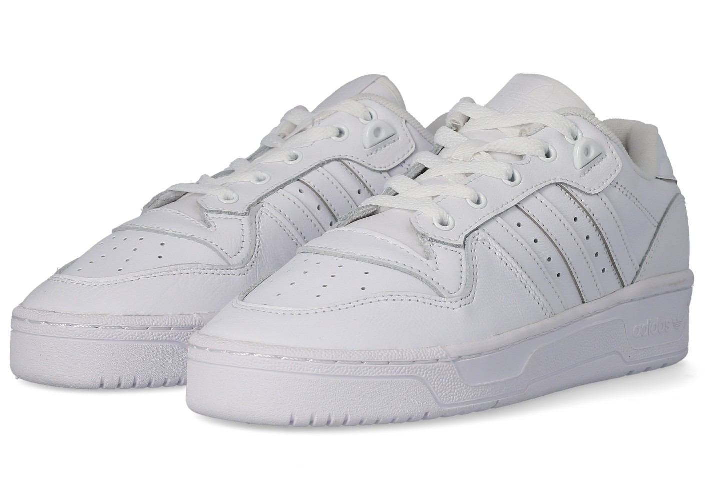 adidas Rivalry Low blanc Chaussures Baskets homme Chausport