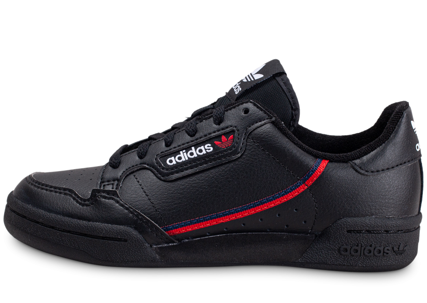 adidas Continental 80 noir rouge Junior