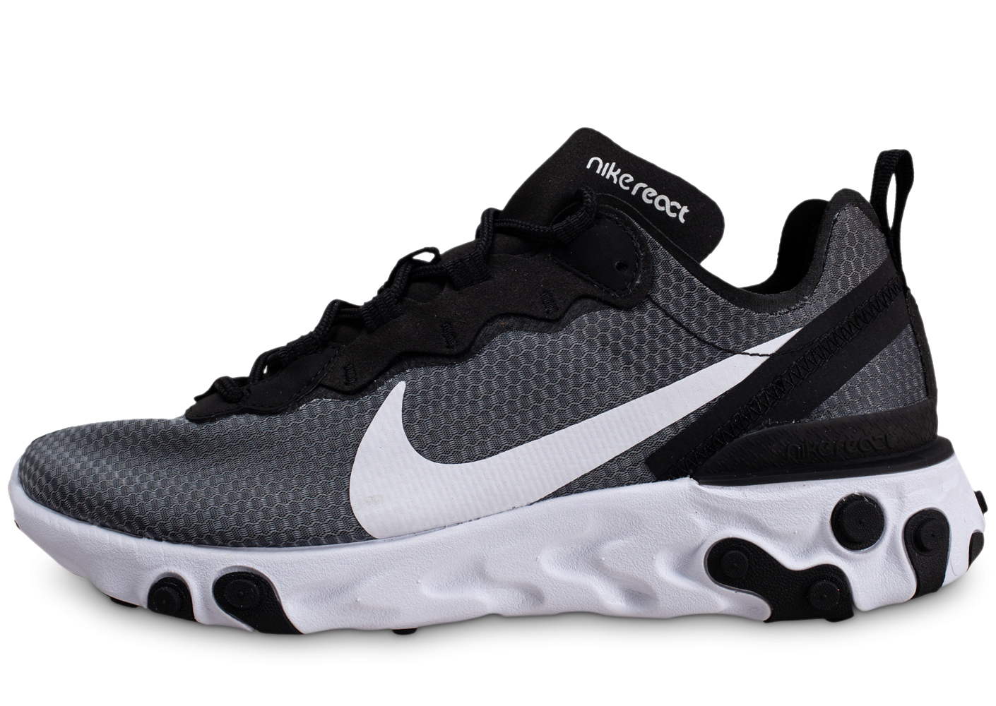 Nike React Element 55 SE noir blanc