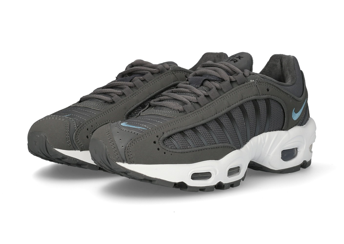 Nike Air Max Tailwind IV grise et bleue Chaussures Baskets