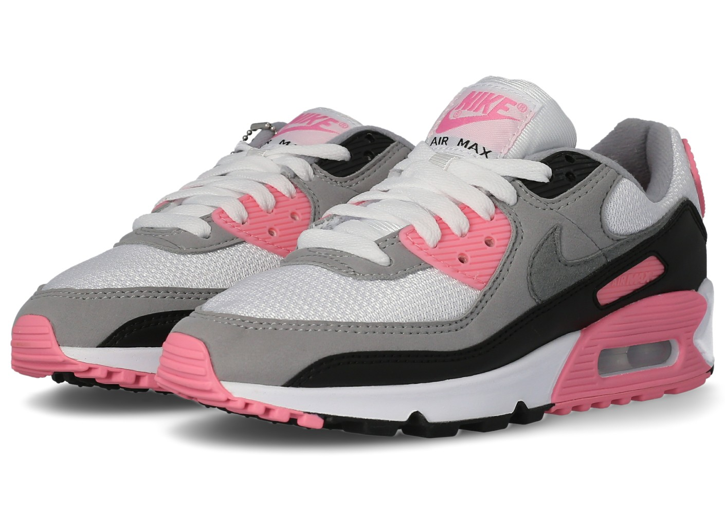 air max 90 rose et gris