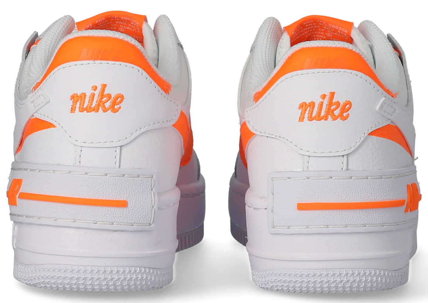 air force 1 shadow blanc orange