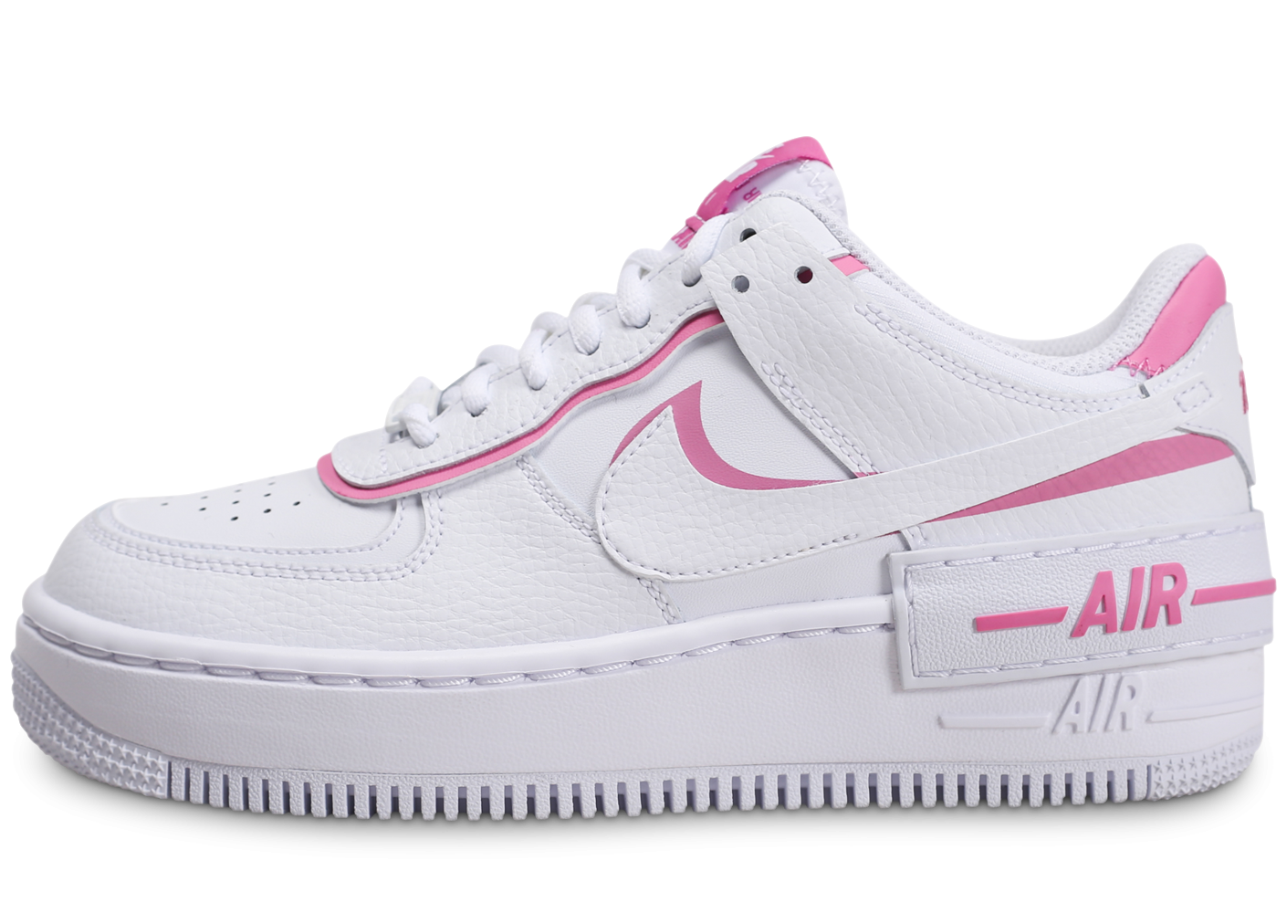 Nike Air Force 1 Shadow blanc rose Femme