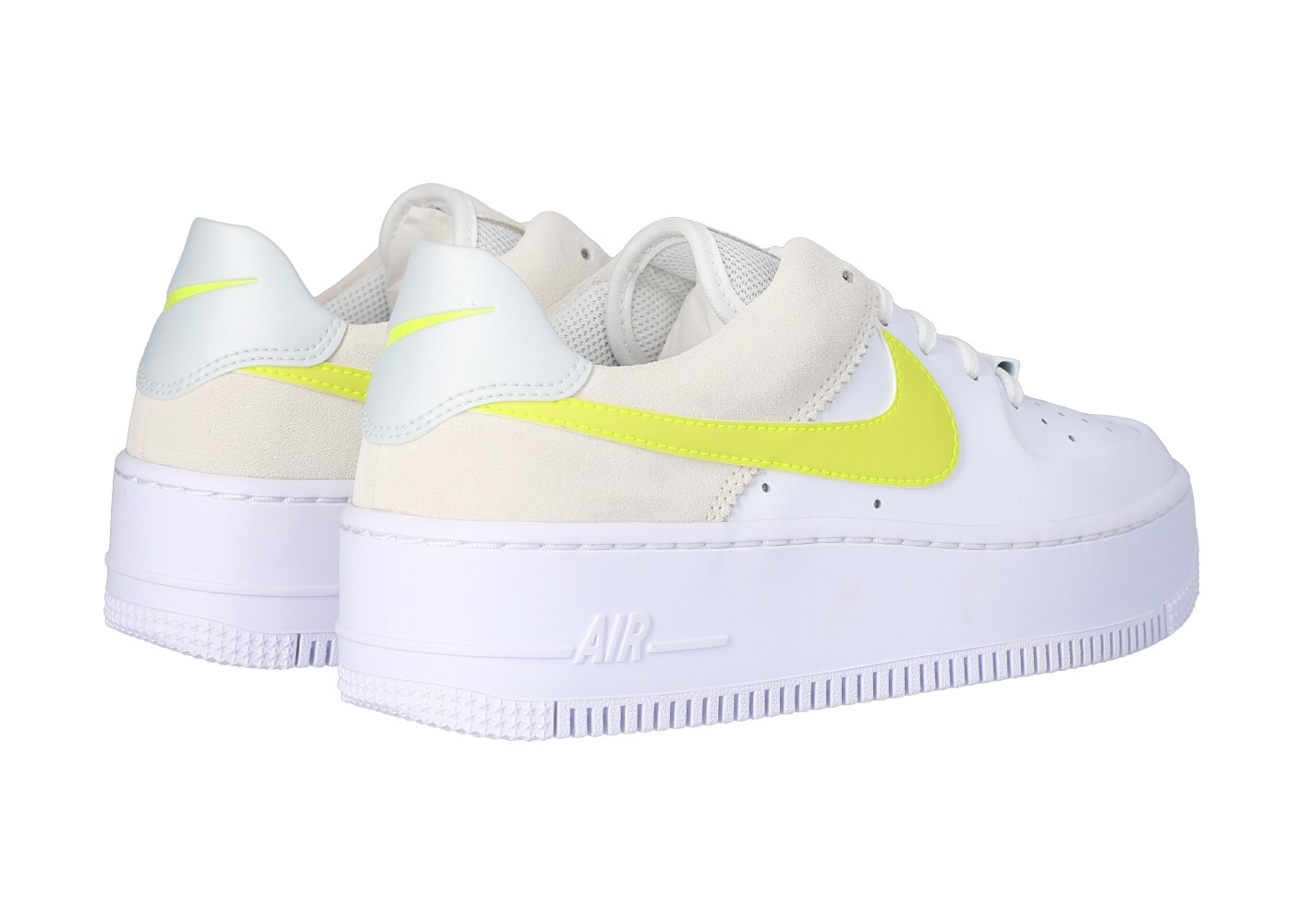 air force 1 low blanche et jaune