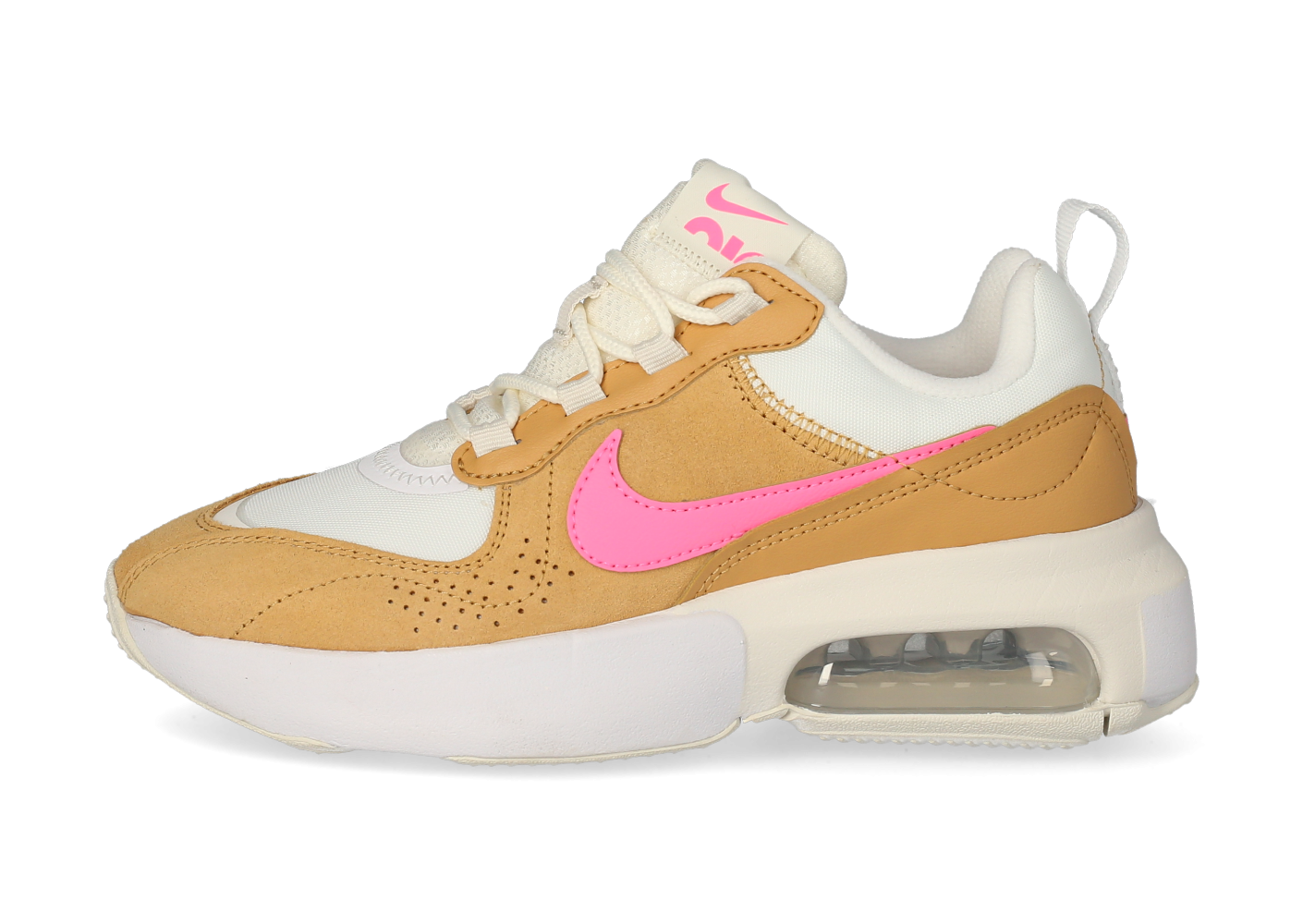 Nike Air Max Verona Femme Camel blanche et rose - Chaussures ...
