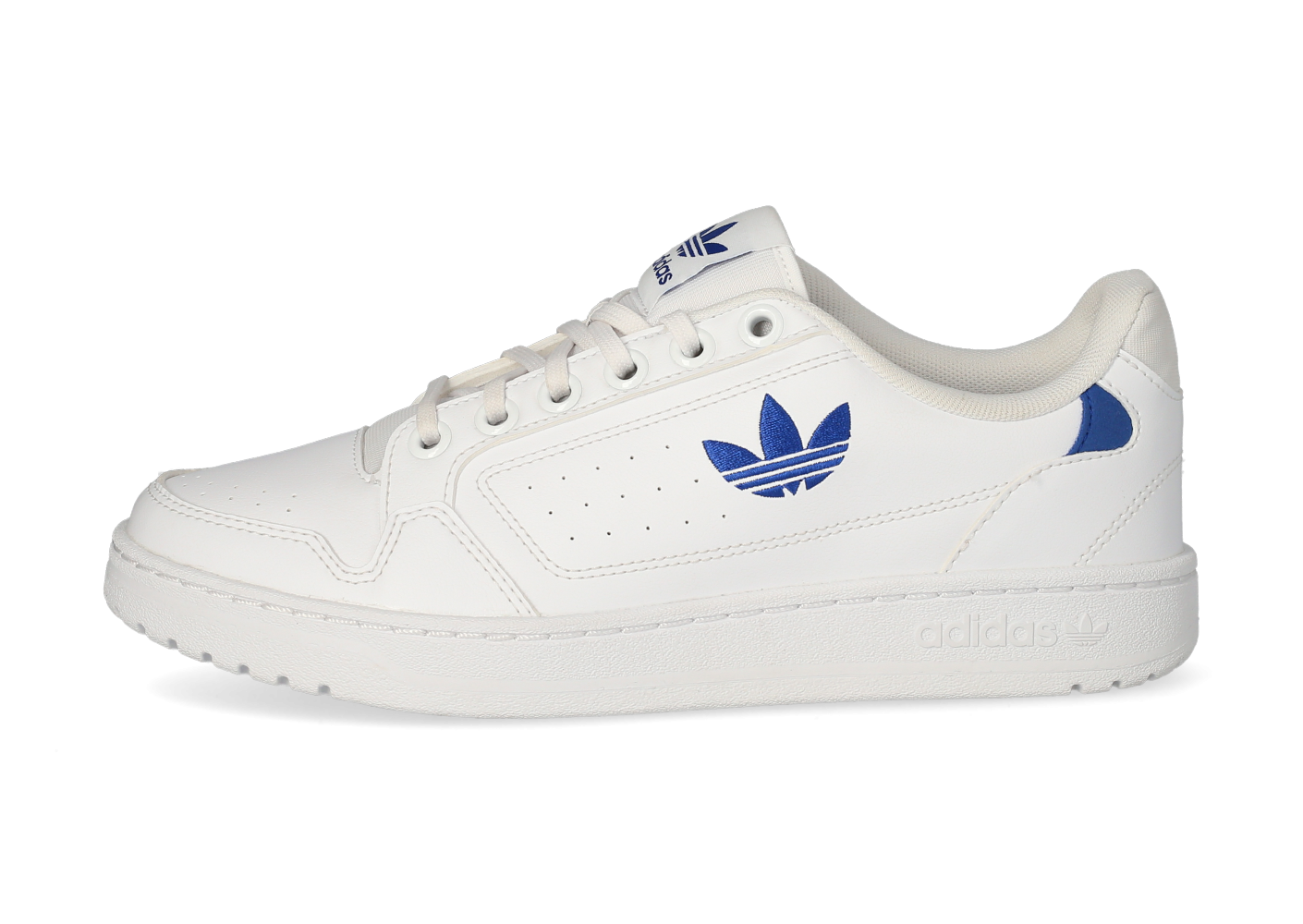 adidas NY 90 blanche et bleue - Chaussures Baskets homme - Pochta