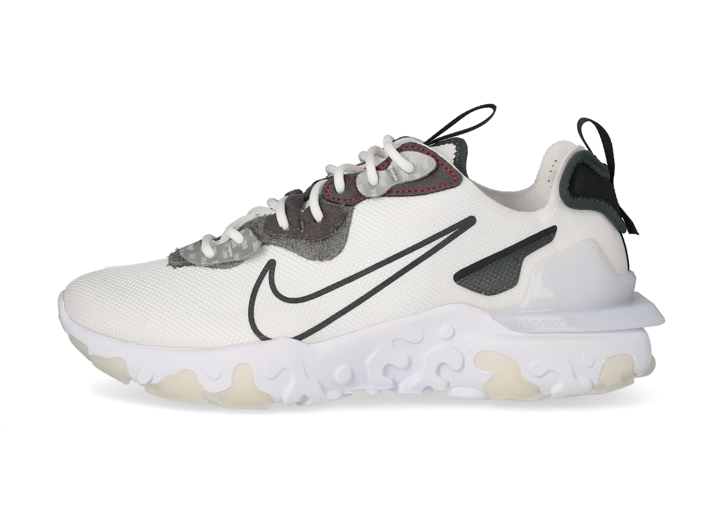 Nike React Vision 3M blanc anthracite - Chaussures Baskets homme ...